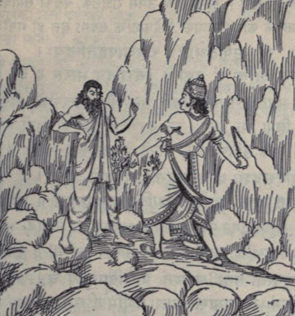 What is the story of Rishi Shakti, the eldest son of Maharishi Vasishtha? -  Quora