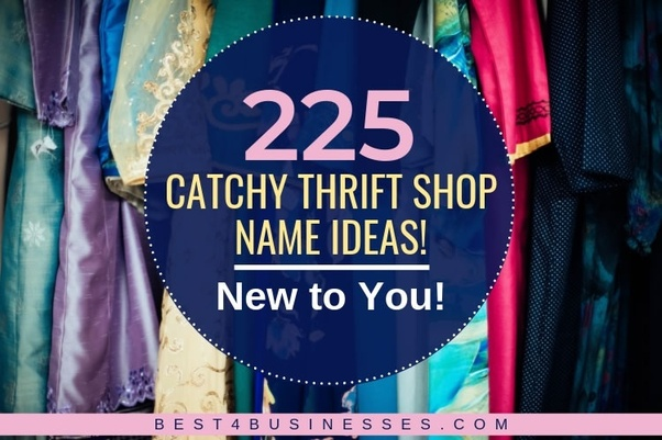 What are some good names for a thrift store business? - Quora