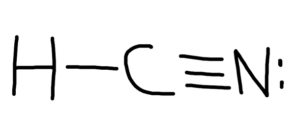 How To Determine The Lewis Structure For Hydrogen Cyanide