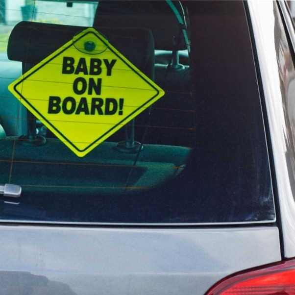 Why Do People Put Those Baby On Board Signs On Their Vehicles Quora - How to make a car show display board