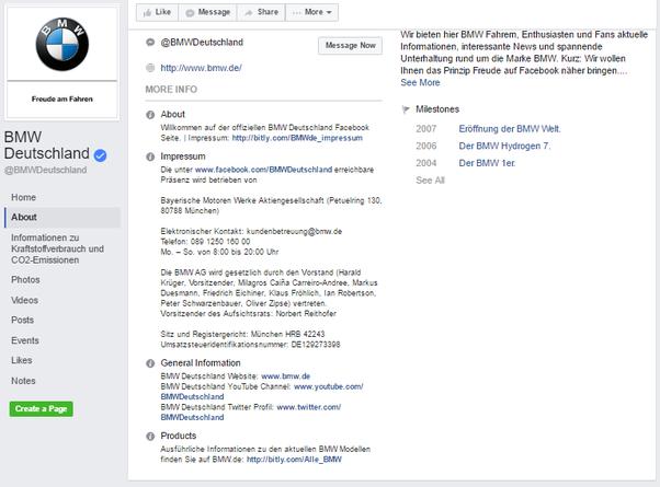 """What is """"Impressum"""" on Facebook? - Quora"""