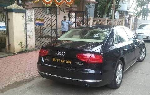 What Do The Blackredwhiteyellow Number Plates In Indian - Audi car number