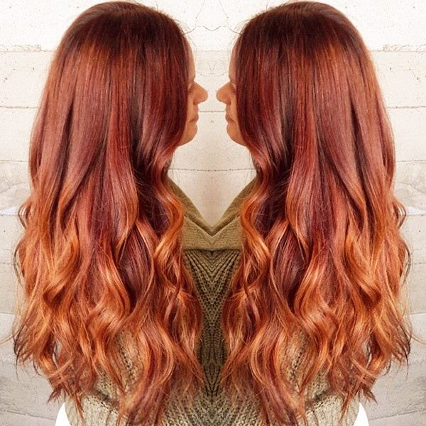 What Colour Should A Ginger Hair Girl Dip Dye Her Hair In