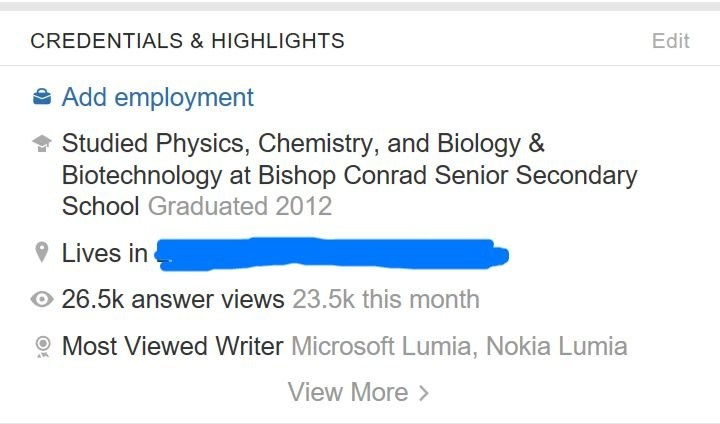What are credentials on Quora? - Quora
