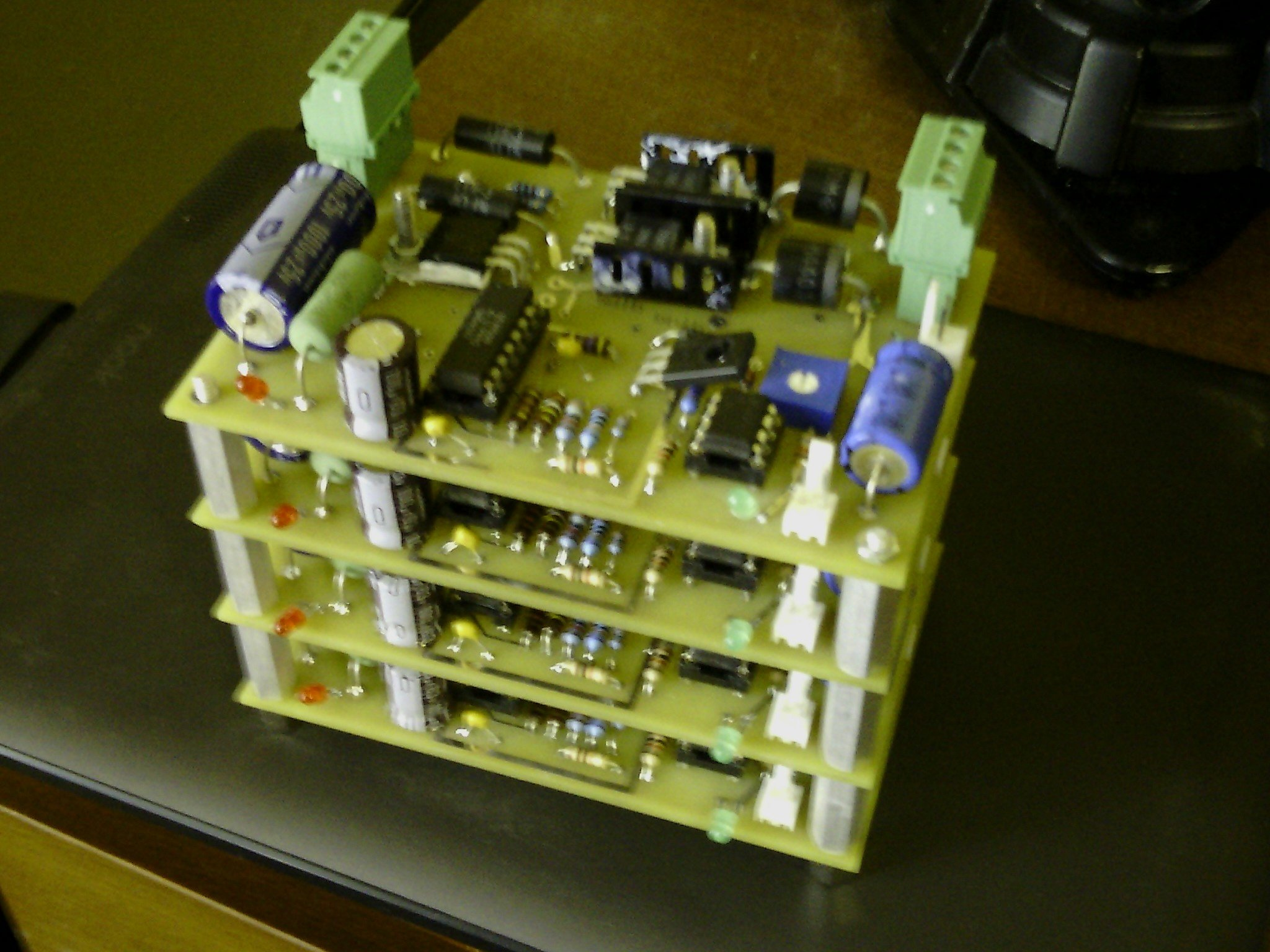 What Is Pcb In Electronics Quora Printed Circuit Boards Bare Board Her A Pic Of An Assembly I Designed And Made 4 Identical The Was