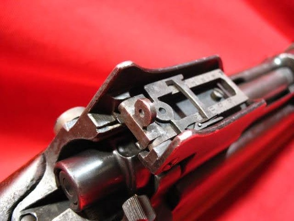 Which bolt action rifle has the best iron sights in your