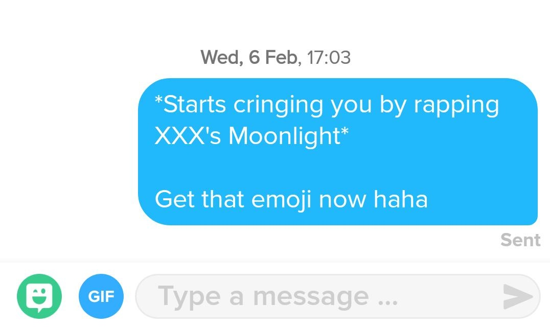 What do you say to a girl when you match with them on Tinder