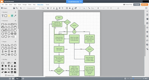 Is There An Online Tool Which Lets You Create Diagrams Like Visio Does Free Paid With Trial Etc Quora