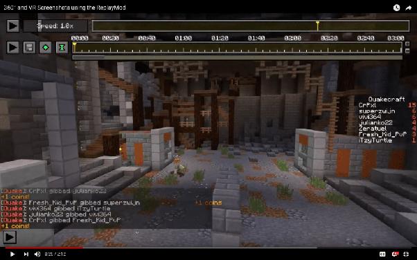 How do people create beautiful Minecraft screenshots? - Quora