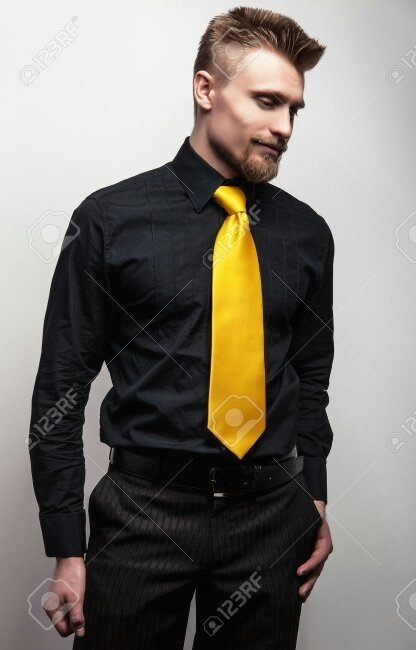 Which colour tie would go with a black shirt? - Quora