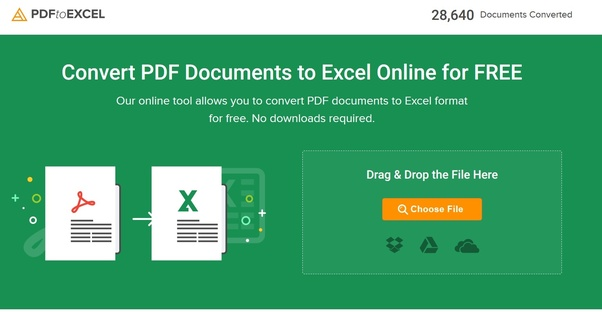 convert xls into pdf online free