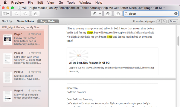 how to search for specific words in a pdf book file quora