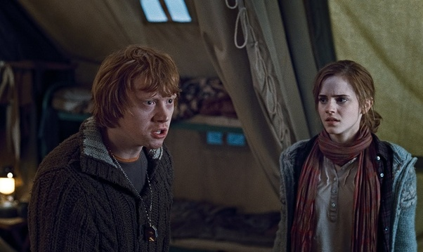 Is Ron and Hermione's relationship abusive? - Quora