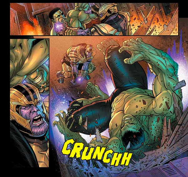 Do You Think That The Hulk And Thanos Will Have A Rematch