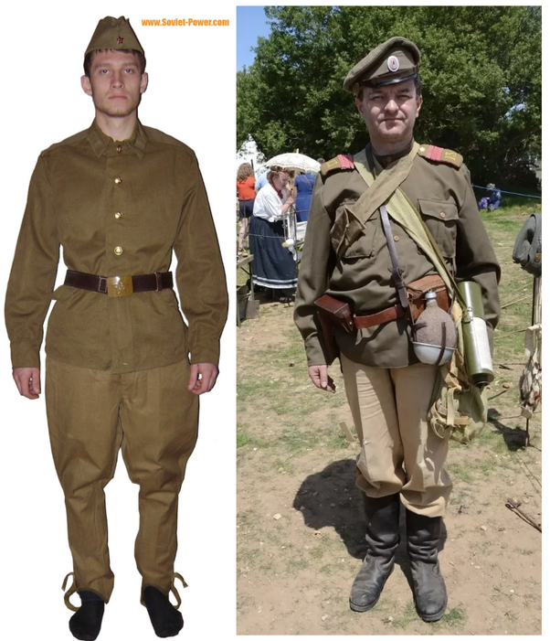 Did Russia wear the same WWI uniforms in WWII? - Quora