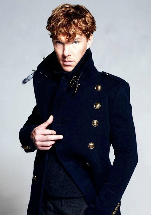 blonde Benedict cumberbatch