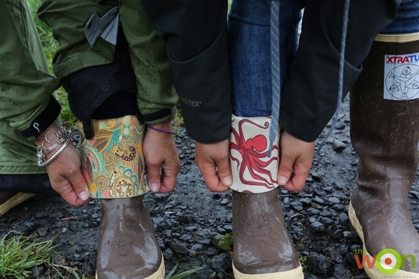 What do people wear in Alaska?