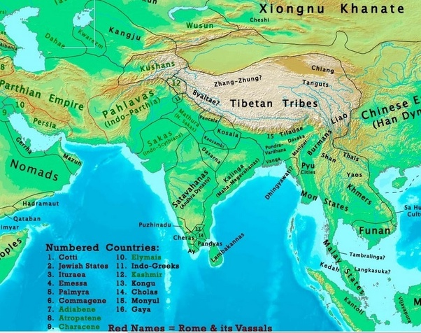 What Was The Map Of India 1000 Years Ago Quora