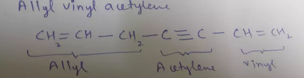 What Is The Degree Of Unsaturated And Number Of C Atoms