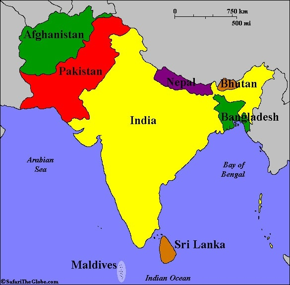 Who do bangladeshis more likely feel close to indians or pakistanis as can be seen in the map bangladesh has 2 neighbors myanmar and india by which it is surrounded in three directions so there has to be cultural and gumiabroncs Choice Image
