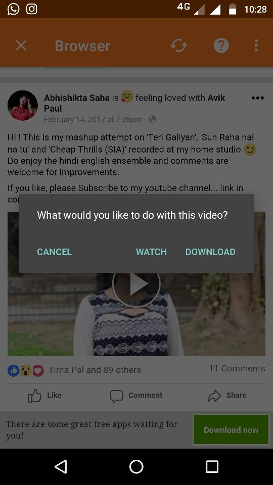 How To Download Facebook Videos Or Share A Video From