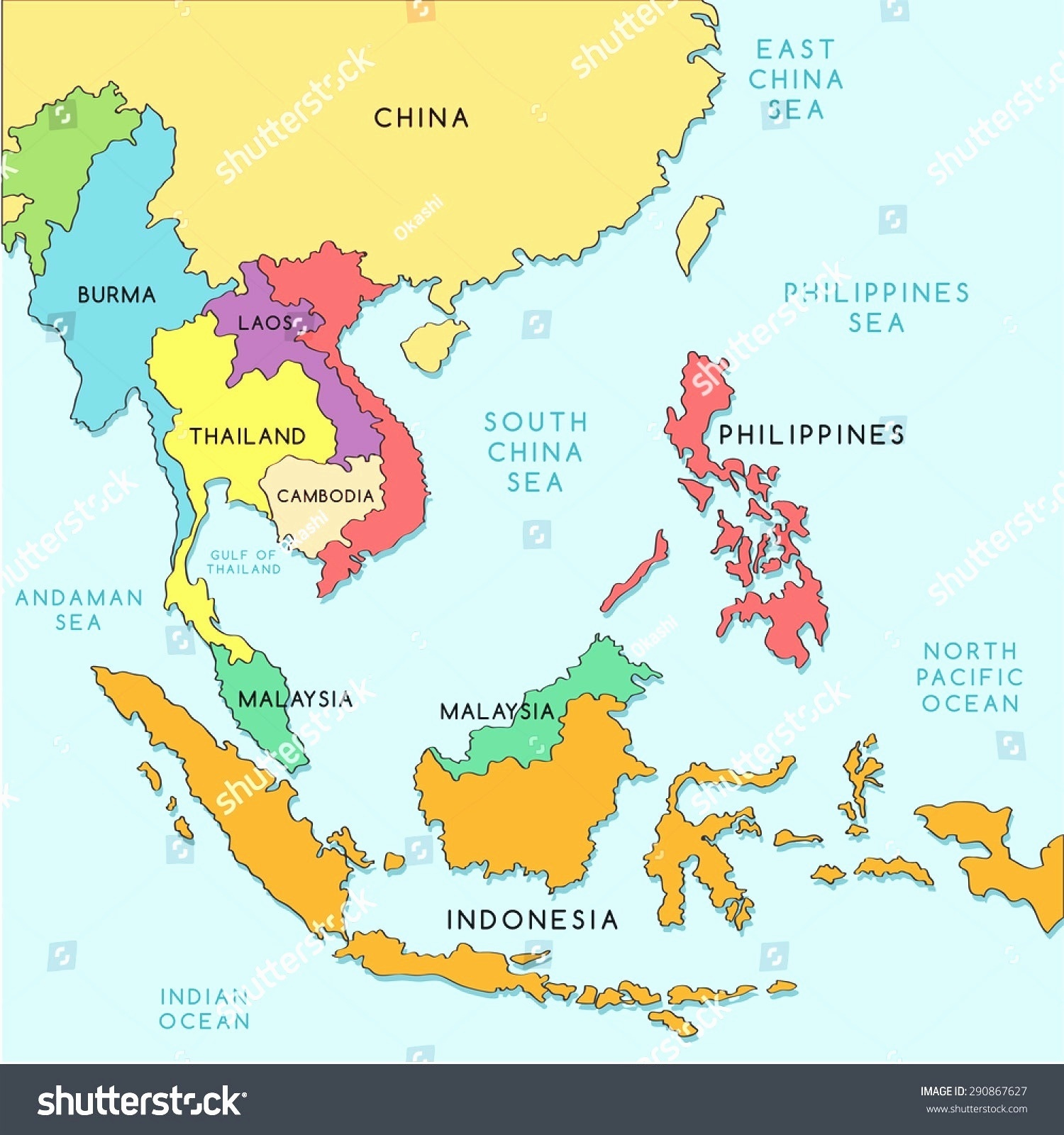 Map Of Se Asia And China.Do Chinese Japanese And Koreans Consider Vietnamese As