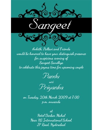 What are the best indian wedding invitation wordings quora stopboris