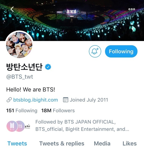 Does BTS have a Twitter account? - Quora
