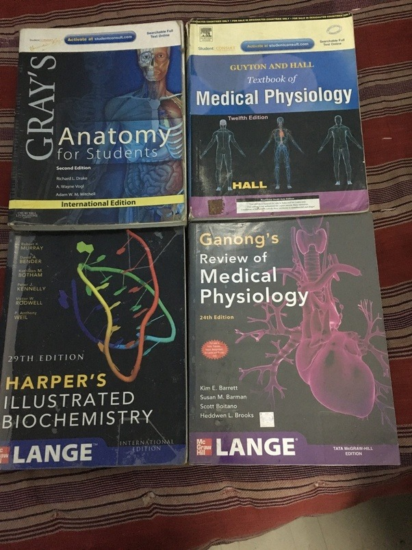 Medical School: What are the best books for MBBS 1st year? - Quora