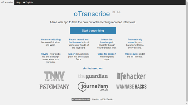 What is the easiest way to transcribe audio or video files