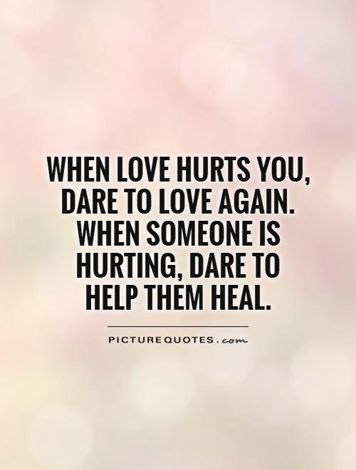 If Someone Hurts You In Love Should You Hurt Back Or Let Go Quora