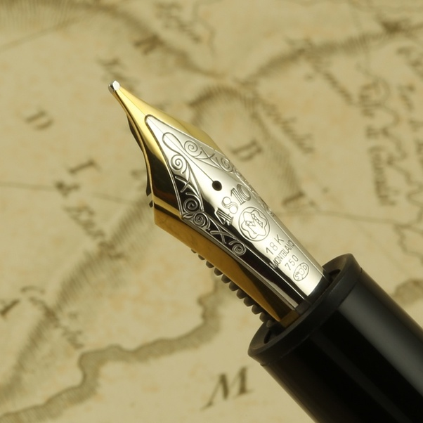 What Is The Meaning Of The Numbers On A Montblanc Fountain Pen Nib Quora