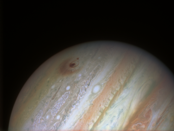 Jupiter after impact with comet
