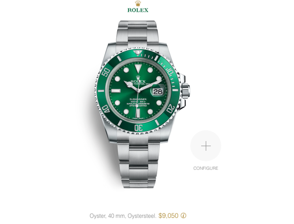 What Is The Approximate Depreciation Of A 2018 Green Rolex
