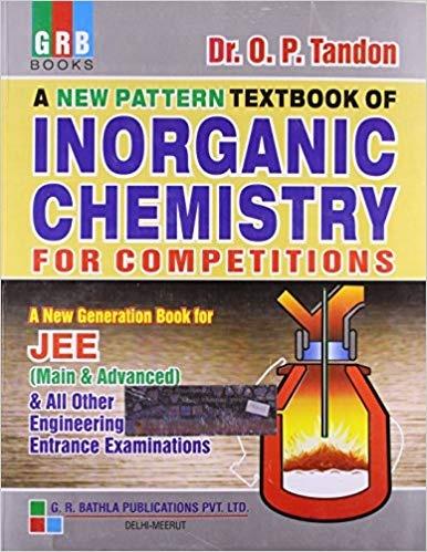 Op Tandon Inorganic Chemistry Book