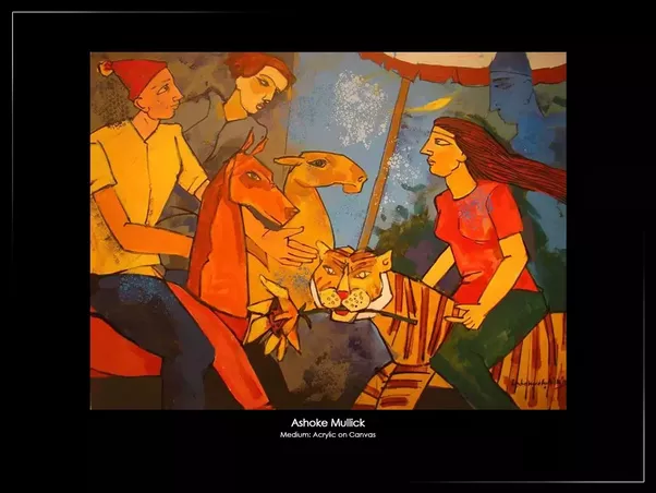 Emami Chisel Art Gallery Exhibits Many Exclusive And Extraordinary Paintings Of Various Renowned Artists