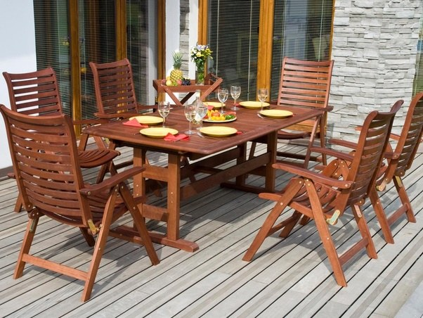 What companies make good teak patio furniture? - Quora