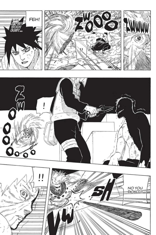 Do you feel disappointed that Naruto and Sakura didn't end