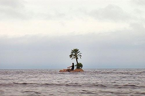 if you were stranded on a deserted island with another