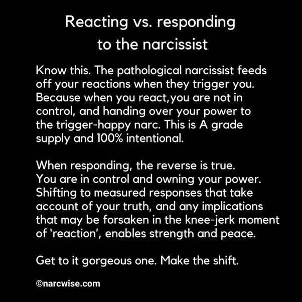 Does a narcissist feed off of my emotions and love? - Quora