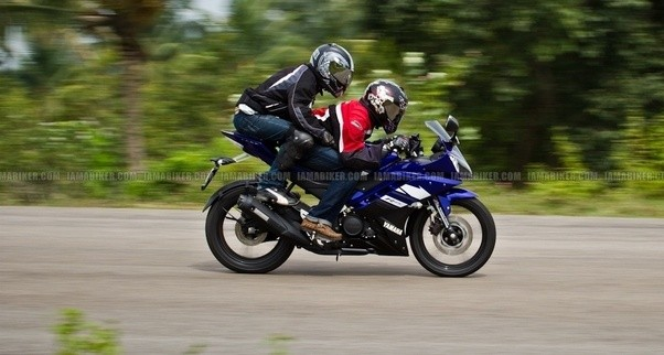 Is The R15 V3 Comfortable For A Pillion Lady Passenger