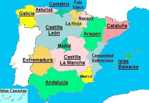 Basque Map Of Spain.If Both Catalonia And The Basque Country Became Independent Would