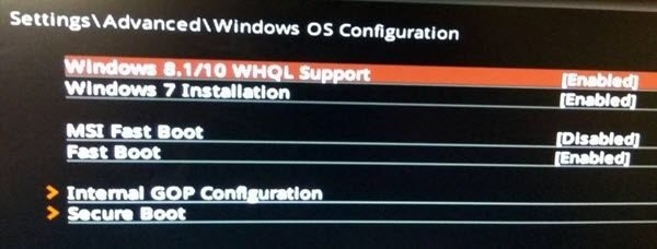 What is Windows 10's WHQL setting on the BIOS? - Quora