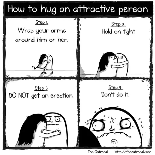 If a guy initiates a hug