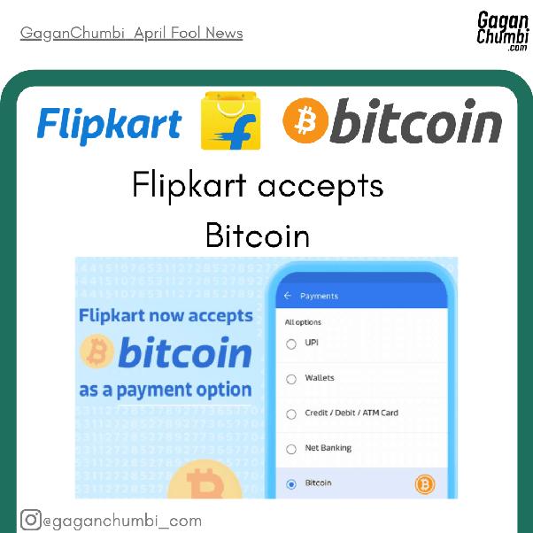 flipkart bitcoin