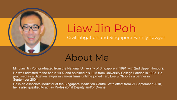 Under singapore laws, do I have legal recourse when signed