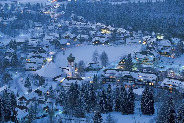 take a train ride down to garmisch from munich along the snow covered alpine foothills and small towns drink hot chocolate and eat kaiserschmarrn - Best Places To Visit At Christmas