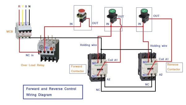 3ph motor forward and reverse control wiring schematics what is a forward reversing motor control circuit? - quora #6