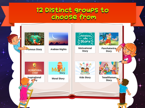 Which is the best story app for kids? I have a niece who loves to