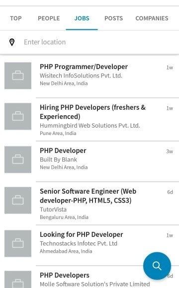 use of php language